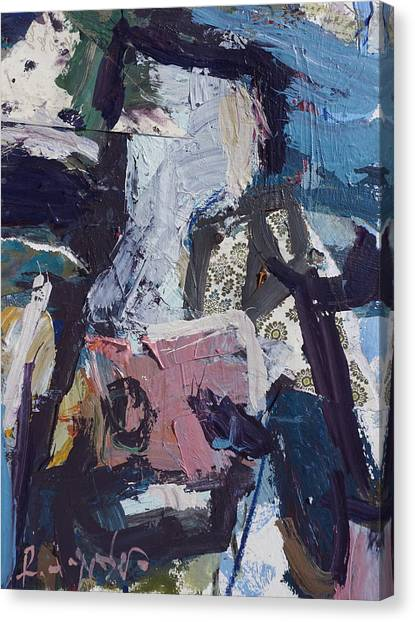 Abstract Cow Print Canvas Print