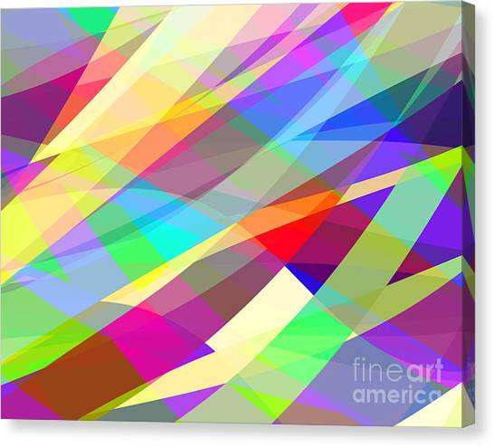 Background Canvas Print - Abstract Editable Vector Background Of by Robert Adrian Hillman
