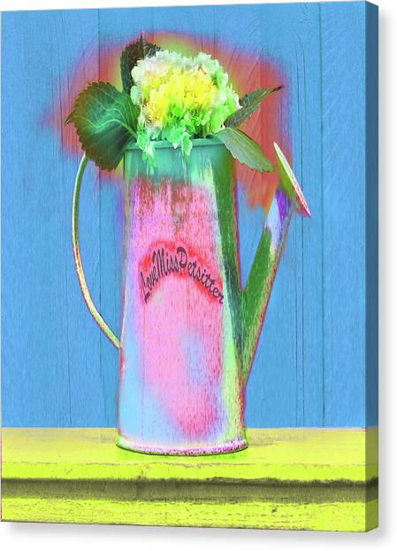 Abstract Floral Art 377 Canvas Print