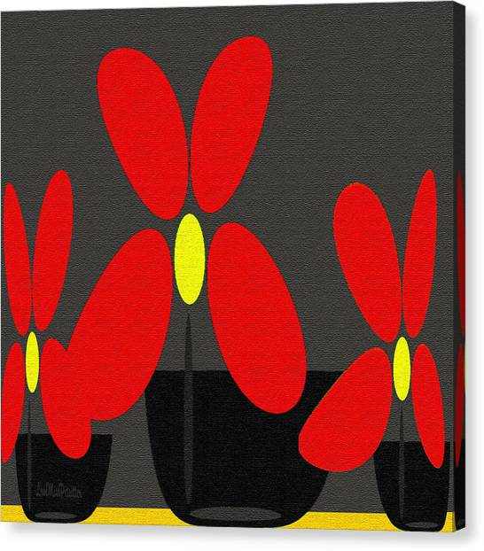 Abstract Floral Art 393 Canvas Print