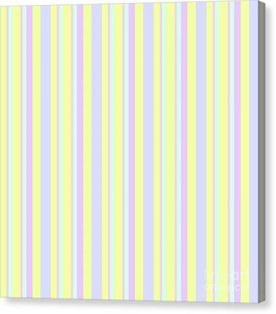 Abstract Fresh Color Lines Background - Dde595 Canvas Print