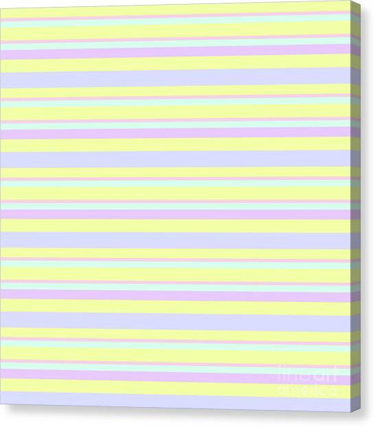 Abstract Horizontal Fresh Lines Background - Dde596 Canvas Print