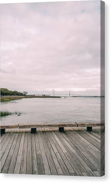 Across The Marsh Canvas Print