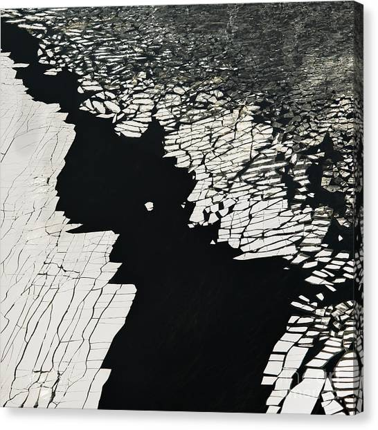 Change Canvas Print - Aerial View Over The Surface Of River by Miks Mihails Ignats