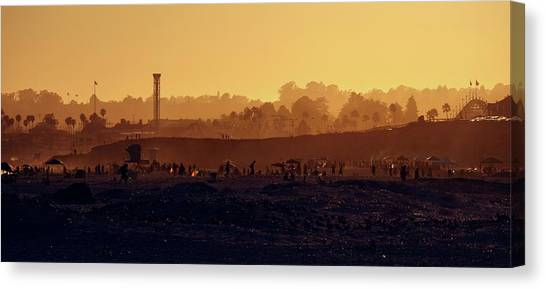Canvas Print featuring the photograph After The Apocalypse by Quality HDR Photography