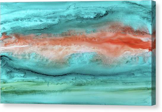 Agate Shore 2 Canvas Print