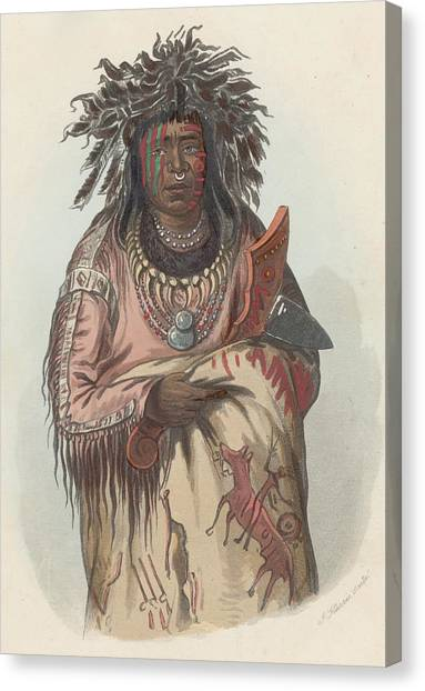 Ah-quee-we-zaints Canvas Print by Hulton Archive