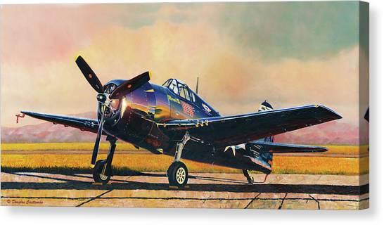 Airshow Hellcat Canvas Print