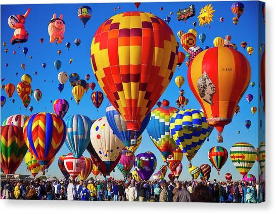Albuquerque Balloon Fiesta Canvas Print