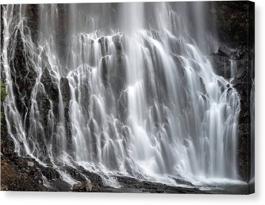 Canvas Print featuring the photograph Alexander Falls Close Up by Pierre Leclerc Photography