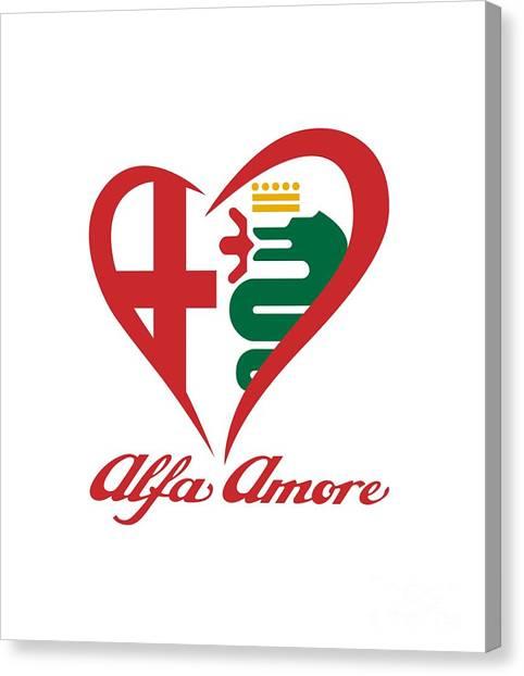 Alfa Amore Canvas Print