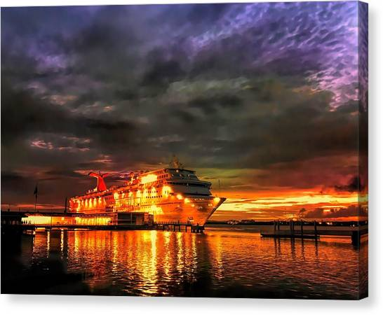 All Aboard Canvas Print
