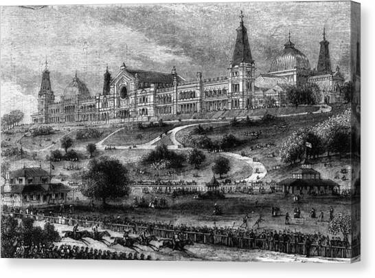 Ally Pally Racing Canvas Print by Hulton Archive