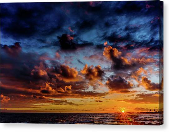 Almost A Painting Canvas Print