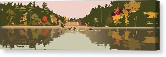 Aloft Canvas Print by Marian Federspiel