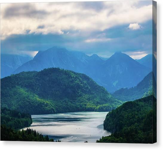 Alpsee Canvas Print