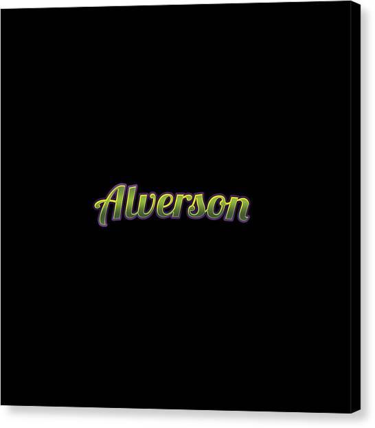 Canvas Print - Alverson #alverson by TintoDesigns