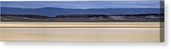 Alvord Panoramic 2 Canvas Print by Leland D Howard
