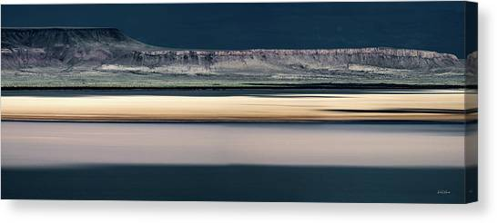 Alvord Panoramic 3 Canvas Print by Leland D Howard