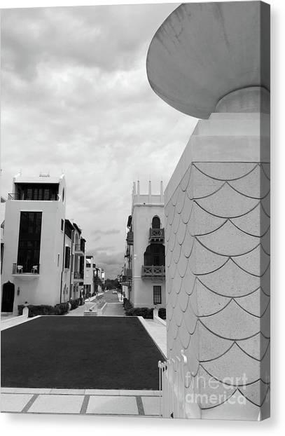 Canvas Print - Alys Architecture by Megan Cohen
