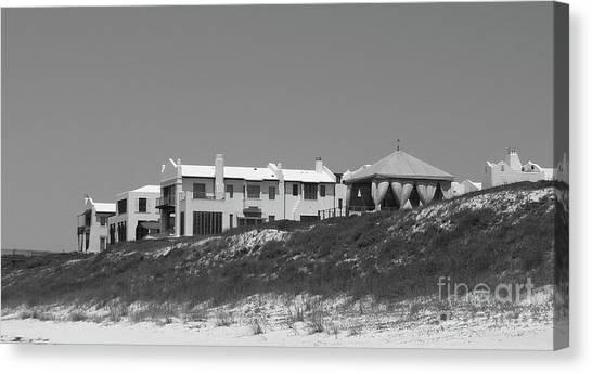 Canvas Print - Alys Beach View by Megan Cohen