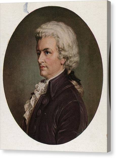 Amadeus Canvas Print by Hulton Archive