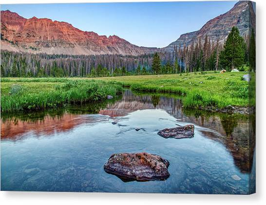 Uinta Canvas Print - Amethyst Basin by James Zebrack