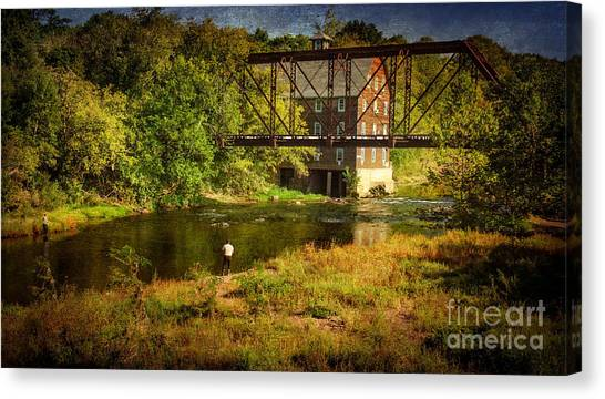 Ammerman Mill Canvas Print