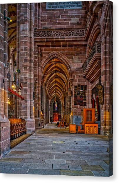 Amped Up Arches Canvas Print