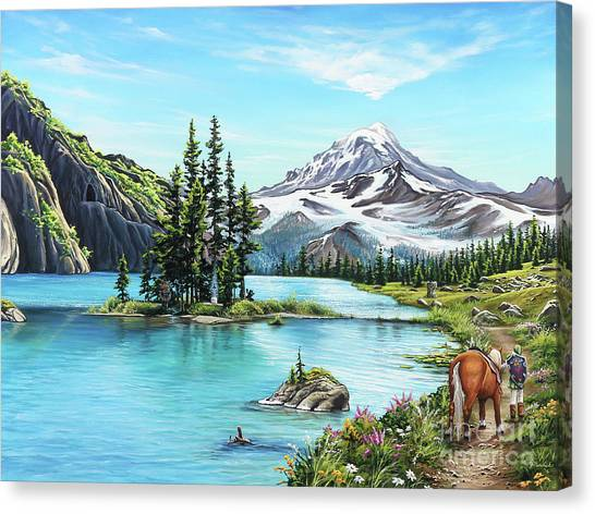 An Afternoon Adventure Canvas Print