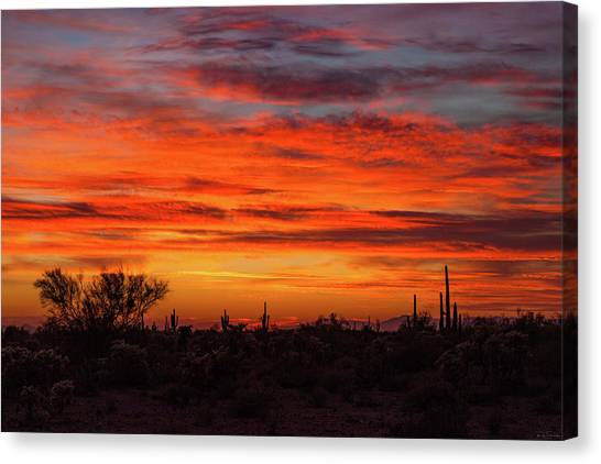 An Arizona Sky Canvas Print