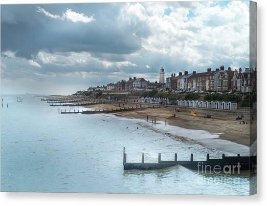 An English Beach Canvas Print