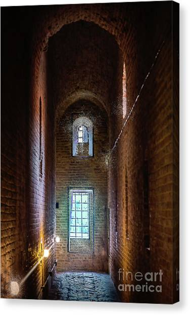 An Entrance To The Casemates Of The Medieval Castle Canvas Print