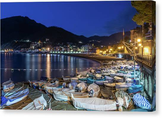 An Evening In Levanto Canvas Print