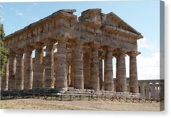 Ancient Greek Ruins Canvas Print