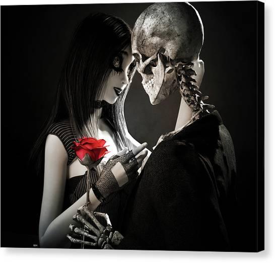 Ancient Love Canvas Print