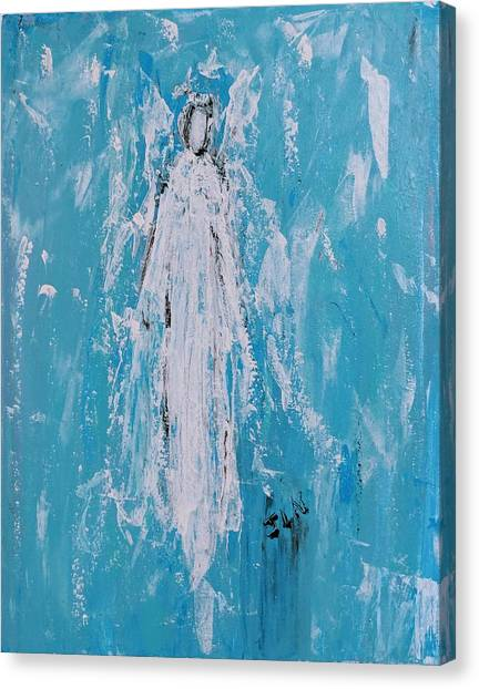 Angel For Grievance Canvas Print