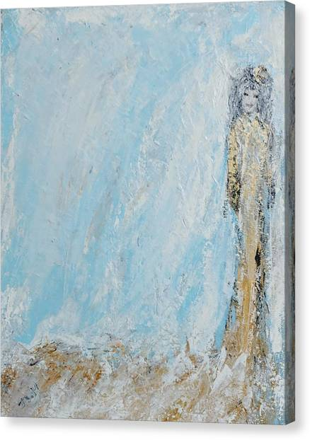 Angel For The New Year Canvas Print