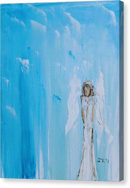 Angel Of Simplicity Canvas Print