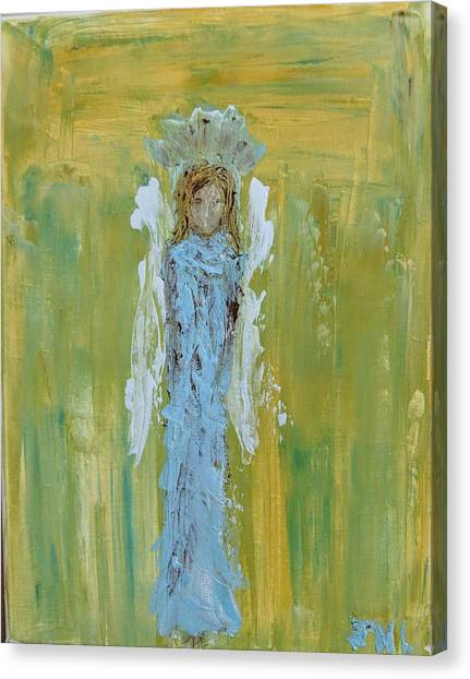 Angel Of Vision Canvas Print