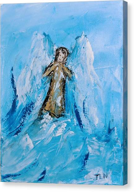 Angel With A Purpose Canvas Print