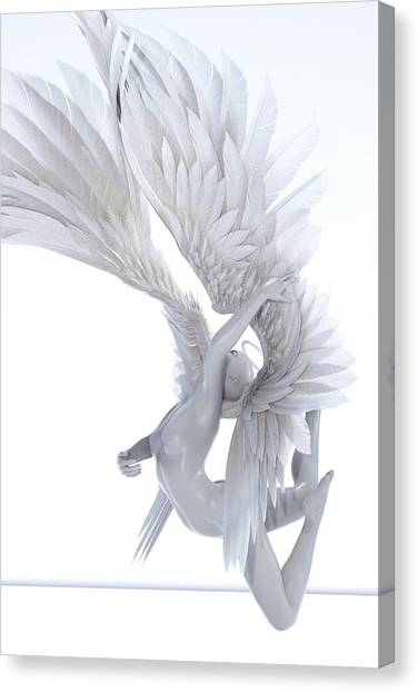 3d Model Canvas Print - Angelic Arch by Betsy Knapp