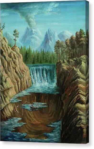 Angeln Canvas Print by Pobytov