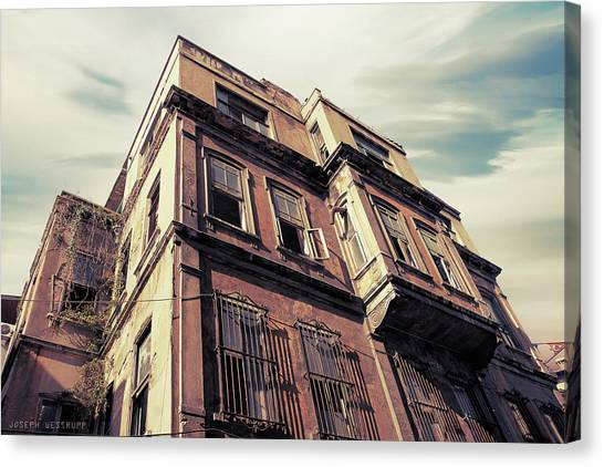 Urban Decay Canvas Print - Angles Of Attrition by Joseph Westrupp