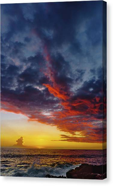Another Colorful Sky Canvas Print