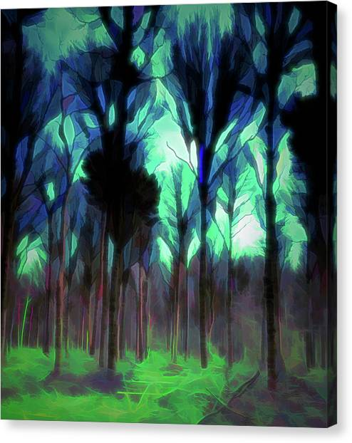 Another World - Forest Canvas Print