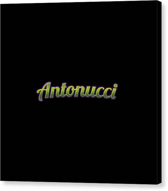 Canvas Print - Antonucci #antonucci by TintoDesigns