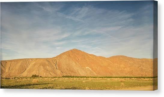 Anza Borrego Sunset Canvas Print