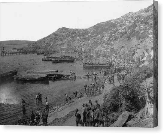 Anzac Cove Canvas Print by Hulton Archive
