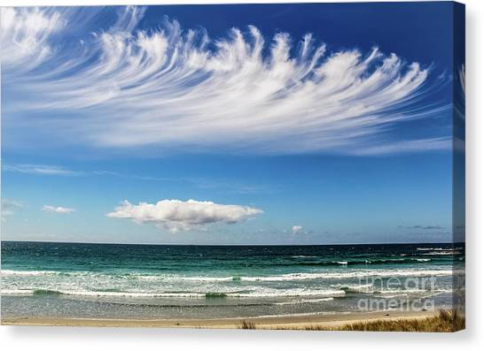 Aotearoa - The Long White Cloud, New Zealand Canvas Print